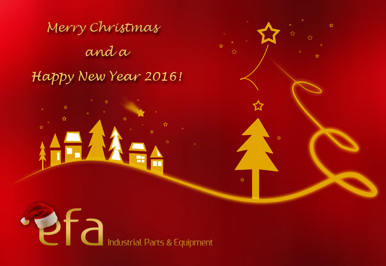 efa XMAS Greetings 2015