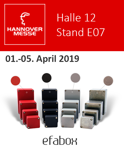 efa GmbH Hannover Messe 2019